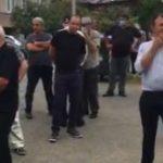 """""""ნაციონალური მოძრაობის """" ოზურგეთის და ლანჩხუთის ადგილობრივმა წარმომადგენლებმა საოლქო კომისიებთან სოლიდარობის აქცია გამართეს"""