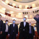 """""""ქართუს"""" მიერ დაფინანსებული ოზურგეთის თეატრის სარეაბილიტაციო სამუშაოები დღეს პრემიერმა მოინახულა"""