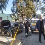 ავტოსაგზაო შემთხვევა ხელვაჩაურში- დაშავებულია 4 ადამიანი(ფოტოები)