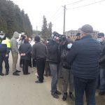 აქცია ნაღობილევში- პატიმრის ახლობლებმა ოზურგეთი- ურეკის ავტომაგისტრალი გადაკეტეს