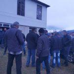 პოლიციამ მუსლიმ მოსახლეობას ბუკნარის ცენტრთან მისასვლელი გზა გადაუკეტა