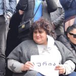 ნამახვანჰესის მშენებლობის წინააღმდეგ გამართულ აქციას გურიიდან 100-ზე მეტი ადამიანი დაესწრო