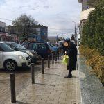 ოზურგეთი 3 მარტი- ხანდაზმული ქალი, მოწყალებას ითხოვს