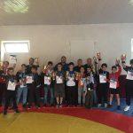 ოზურგეთის ჭიდაობის სექციის ნაკრებმა გუნდმა 16 მედალი აიღო