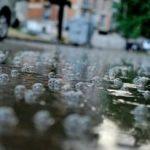 ვიდეო -ძლიერი წვიმის შედეგად ოზურგეთის ბაზარი დაიტბორა